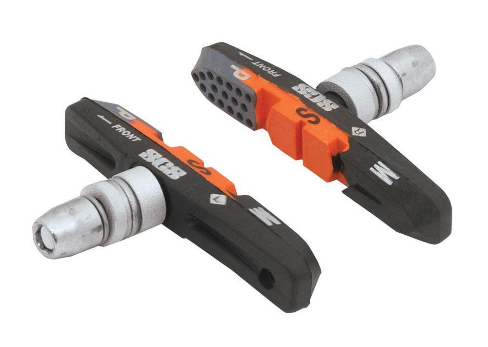 gumičky brzd F jednorázové, šedo-oranžovo-črn 70mm FORCE