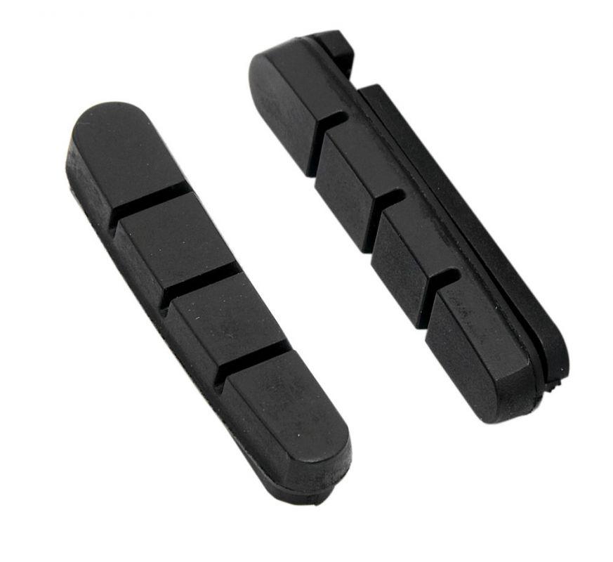 gumičky brzd F silniční náhradní, černé 55mm FORCE
