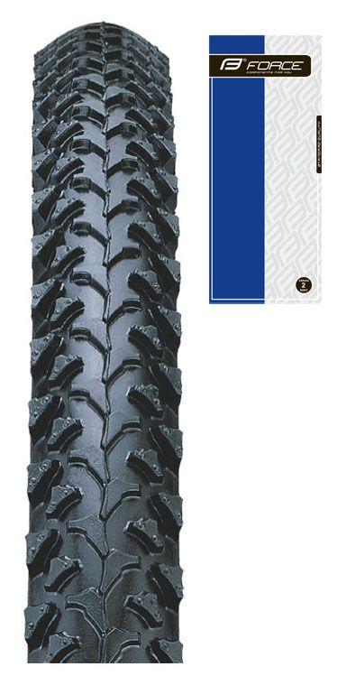 plášť FORCE 26 x 1,95, IA-2005, drát, černý