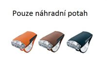 GUEE Tadpole náhradní potah-SET černý/hnědy/oranžový