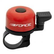 zvonek F MINI Fe/plast 22,2mm paličkový, červený FORCE