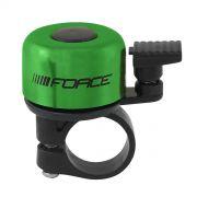 zvonek F MINI Fe/plast 22,2mm paličkový, zelený FORCE