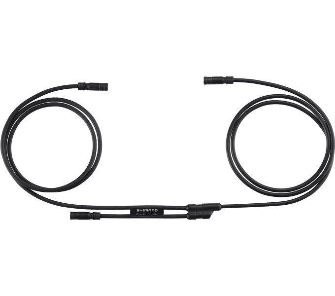 SHIMANO lanko Di2 EW-JC130 E-TUBE konektor X3 L1:550mm, L2:50mm, L3:550mm bal