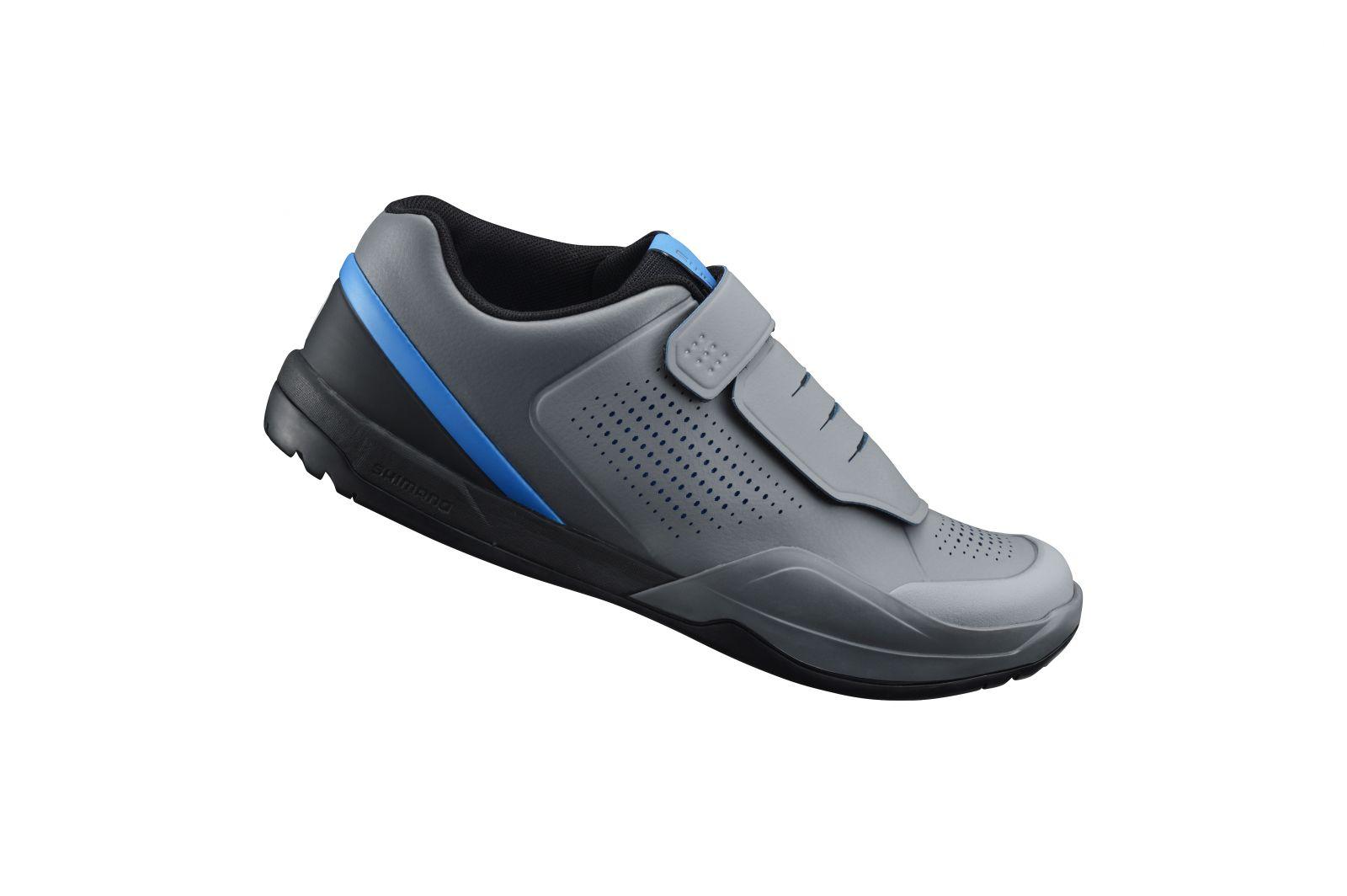 SHIMANO MTB obuv SH-AM901MG, šedá modrá, 47