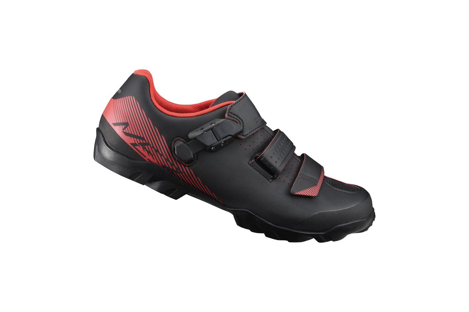 SHIMANO MTB obuv SH-ME300MO, černá oranžová, 42