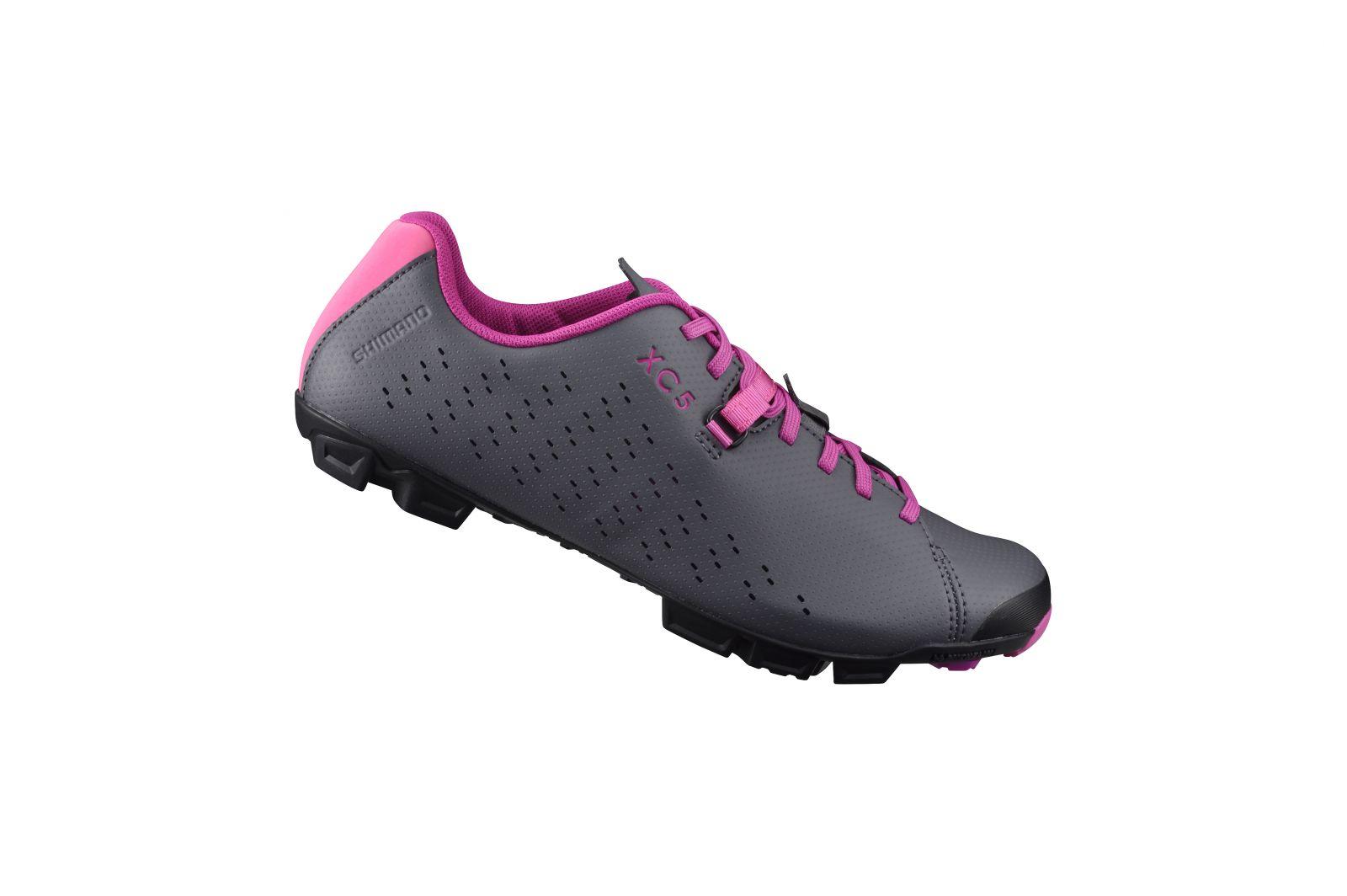 SHIMANO MTB obuv SH-XC500WG, šedá purpurová, 39