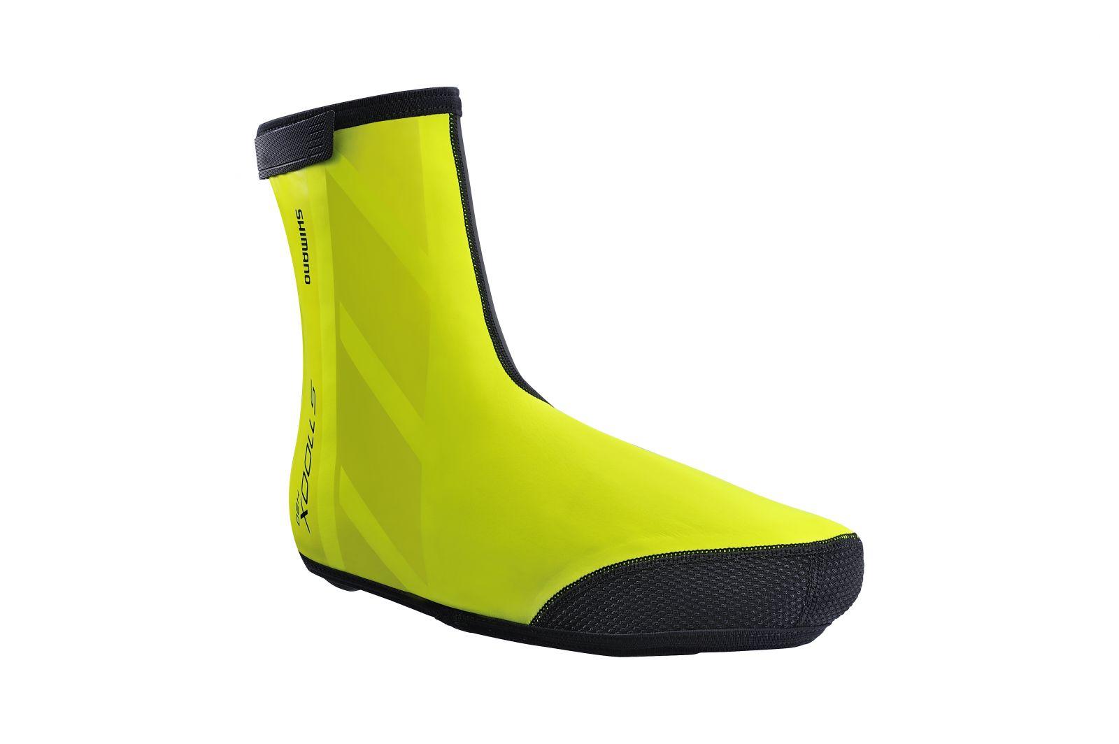 SHIMANO S1100X H2O návleky na obuv, Neon žlutá, L