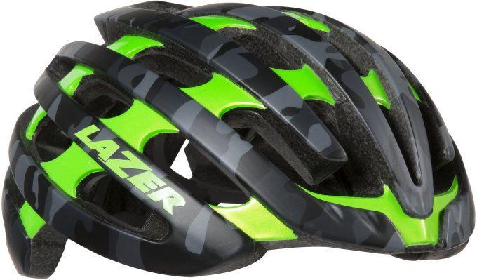 LAZER přilba silniční Z1 matná černá/camo zelená L 58-61 cm