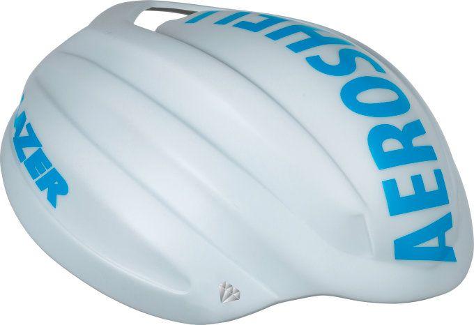 LAZER Z1 AeroShell White Blue M