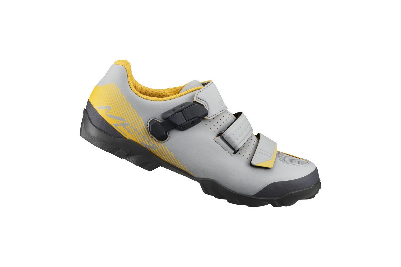 SHIMANO MTB obuv SH-ME300MG, šedá žlutá, 47