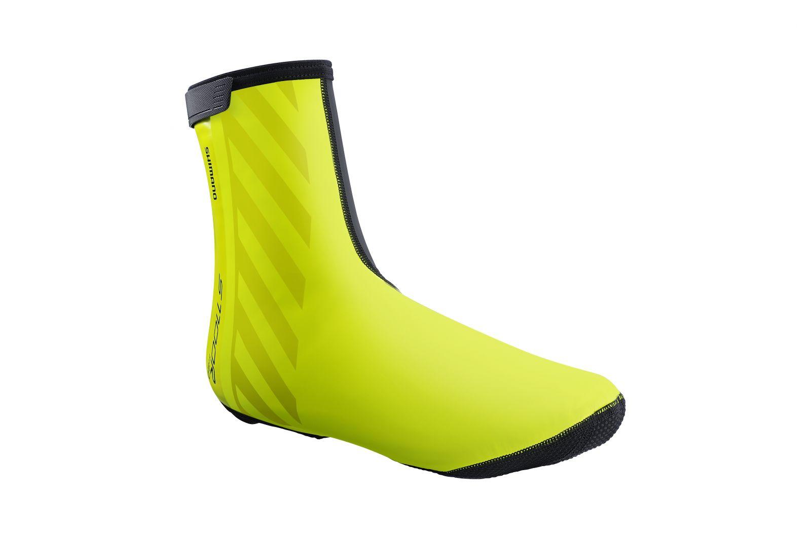 SHIMANO S1100R H2O návleky na obuv, Neon žlutá, XL