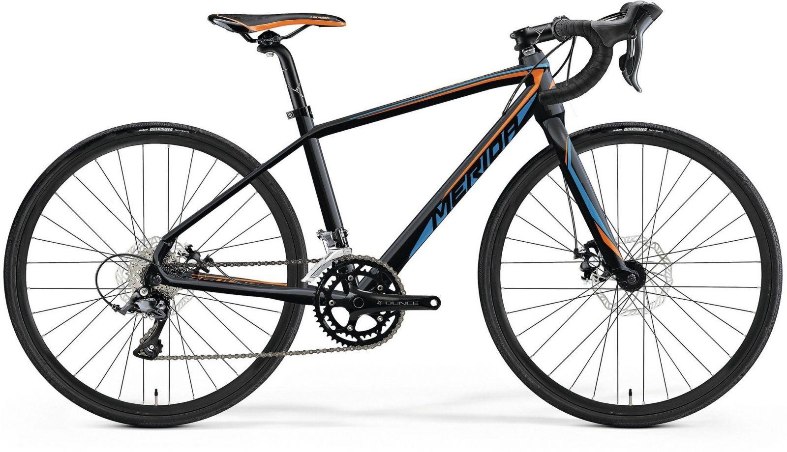 MISSION J ROAD Met. Black(Orange/Blue) 39cm MERIDA