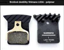 Brzdové destičky Shimano L03A - polymer