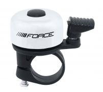 zvonek F MINI Fe/plast 22,2mm paličkový, bílý FORCE