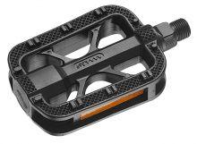 pedály FORCE BMX plast tvrzené, šedo-černé
