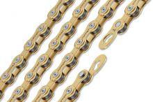 řetěz CONNEX 9sG pro 9-kolo, zlatý