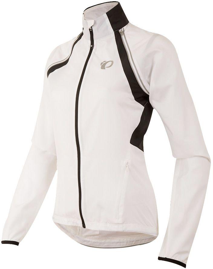 PEARL iZUMi W BARRIER CONVERTIBLE bunda, bílá/černá, M