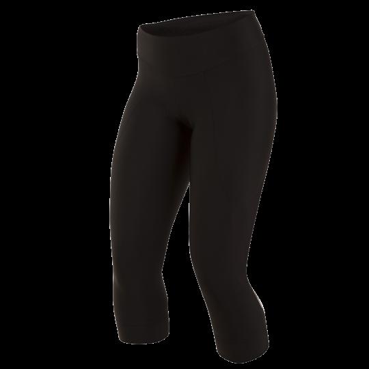 PEARL iZUMi W SELECT PURSUIT 3/4 kalhoty, černá / SCREAMING žlutá, M