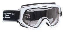 brýle FORCE sjezdové bílé, čiré sklo