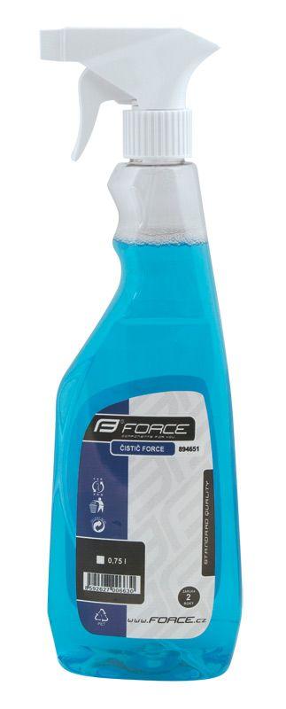 čistič FORCE rozprašovač 750 ml - modrý