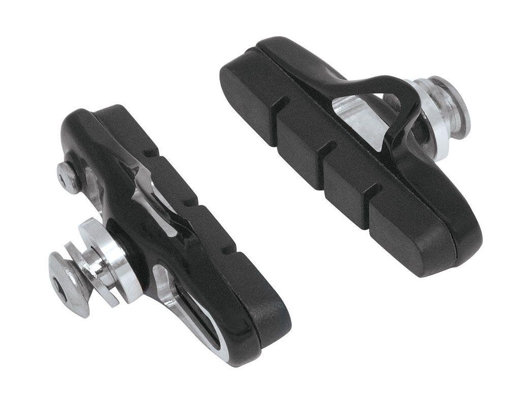 gumičky brzd F silniční výměnné CNC, černé 55mm FORCE