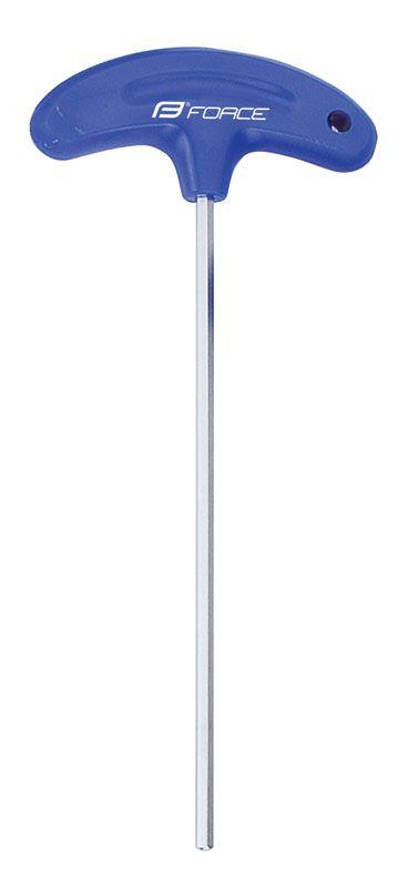 klíč imbus FORCE 4x150mm, modrý