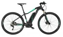 "kolo e-bike SIRMIUM PRO 29"" DEORE 9, črn-zel 15"""