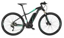 "kolo e-bike SIRMIUM PRO 29"" DEORE 9, črn-zel 17"""