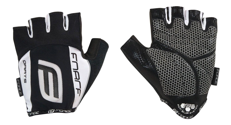 rukavice F DARTS 17 gel bez zapínání, bílé L
