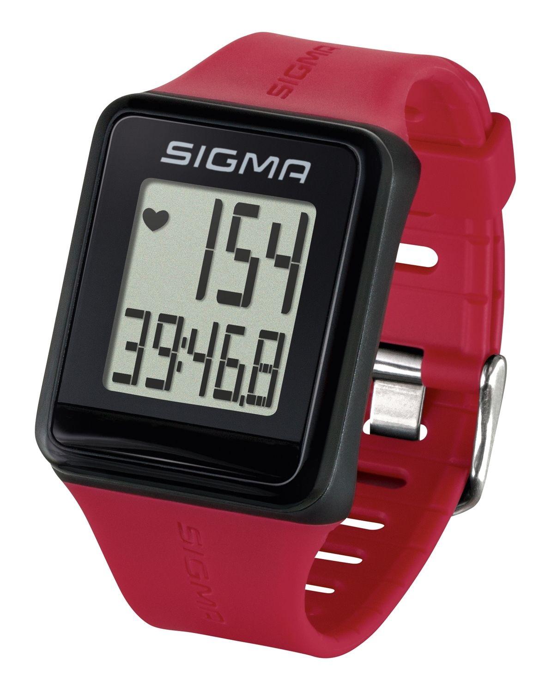 hodinky sportovní SIGMA iD.GO, červené