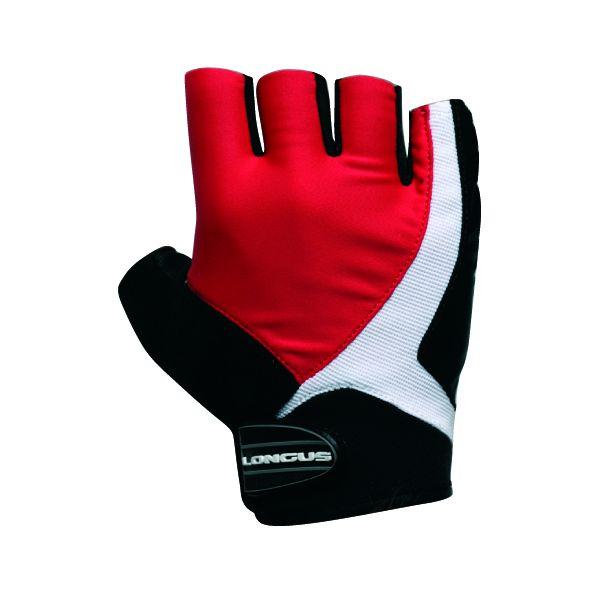 LONGUS rukavice FUSION, červené, S
