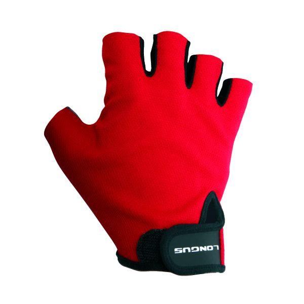 LONGUS rukavice START 06, červené, S