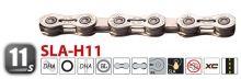 Yaban - Řetěz  SLA H11 CR  stříbrný 11x
