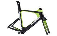 Rám WARP TRI 5000 KIT FRM LTD Black/Green(White) S(51)