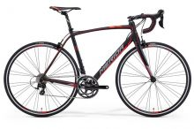 SCULTURA 400 Matt Black(Signal Red/Grey) XXS(44)