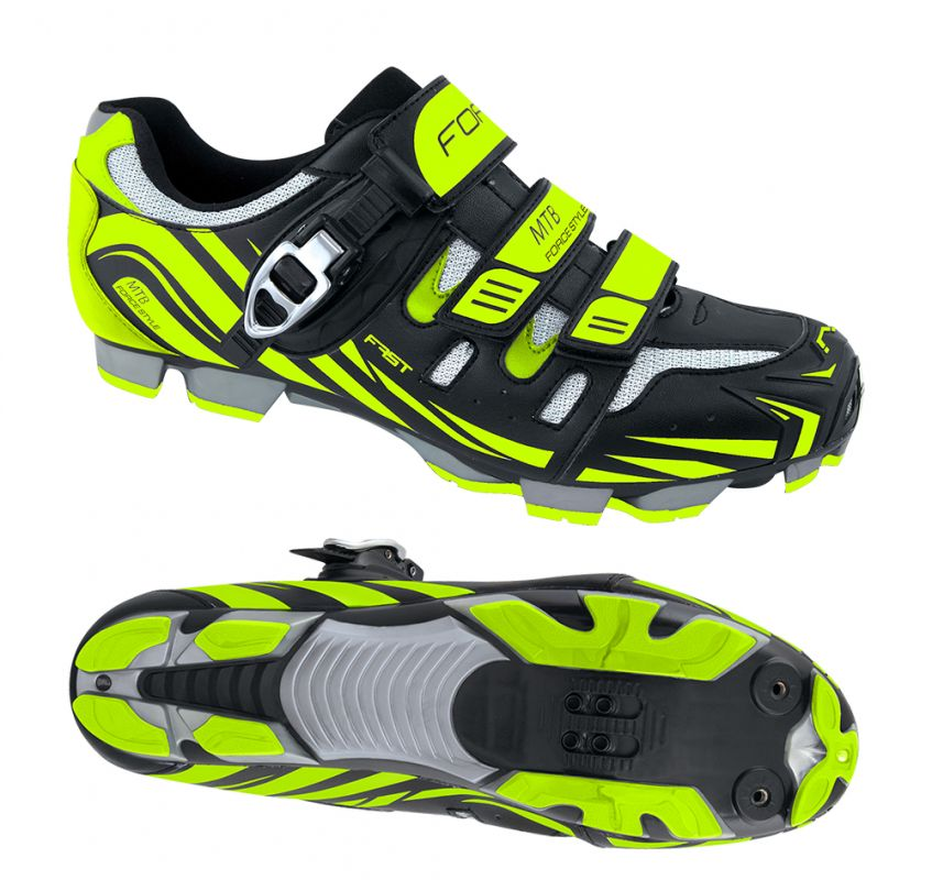 tretry FORCE MTB FAST, fluo 41