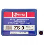 lepení-záplata ZS0 kulatá 16mm box 100ks