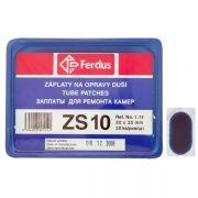 lepení-záplata ZS10 ovál 50x25mm  box 50ks