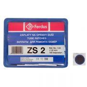 lepení-záplata ZS2 kulatá 25mm  box 100ks